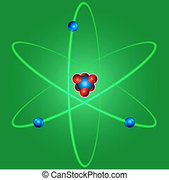 Atom - Illustration of the abstract atom icon