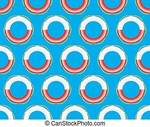 Lifebuoy pattern