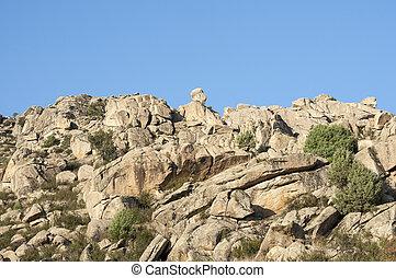 granit, odkrywki,