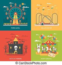 Funfair concept set