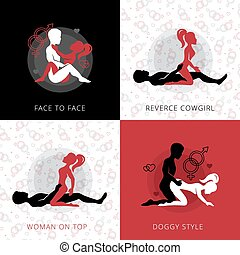 Kama Sutra Love Position Design Concept - Kama sutra love...