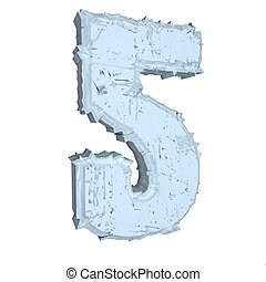 Number 5 in cement