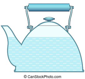 Teapot - Illustration of the teapot icon
