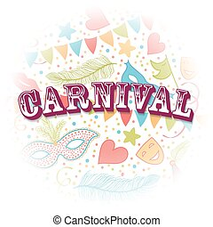 Carnival Party background