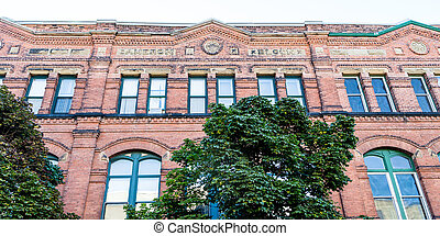 Camerona Block - Old Cameron Block Building in...