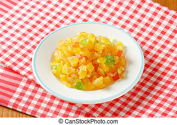 Candied fruit mix