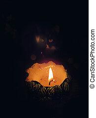Large candle