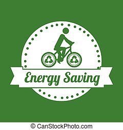 energy saving design, vector illustration eps10 graphic
