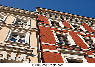 Historic architecture, Frankfurt Oder - Historic...