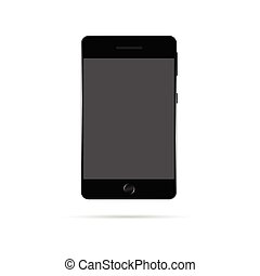mobile phone vector illustration - mobile phone vector...