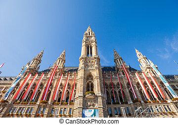 Rathaus (Town Hall) in Vienna