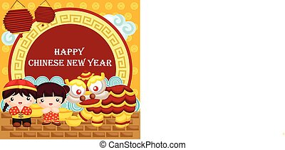 Greeting Card for Chinese New Year