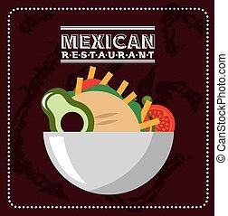 mexican food design