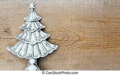 abeto, madeira, árvore, fundo