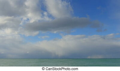 clouds over the Black Sea