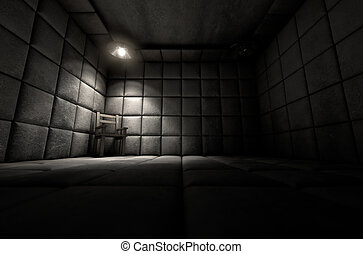 Padded Cell And Empty Chair