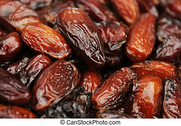 dried dates - Heap of dried dates