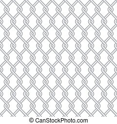 Vector modern wire fence background - Vector modern gray...