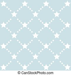 Cute pattern with stars - Cute pattern with stars in blue...