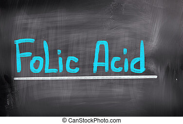 Folic Acid Concept