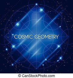 Vector Magic Geometry Sign - Magic geometry sign. Vector...