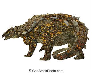 Gargoyleosaurus Dinosaur Tail - Gargoyleosaurus was an...