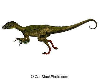 Ornitholestes Side Profile - Ornitholestes was a small...