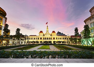 Ho Chi Minh City Hall it is known as Ho Chi Minh City...