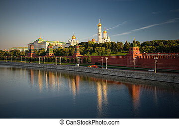 Kremlin Moscow, Russia - Moscow, Russia, view of the Kremlin...