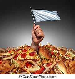 Junk Food Surrender - Junk food surrender and giving up...