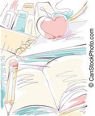 Education Sketch