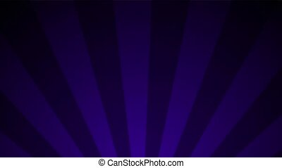 Violet Purple Radial Loop