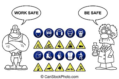 Construction and Hazard signs - Construction related...
