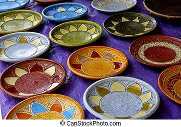 African Art Plates