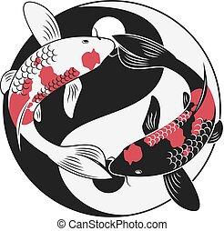 Koi Fish - Graphic for Koi fish