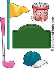 Golf for Kids Elements