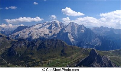 Marmolada mountain