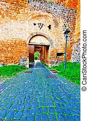 Orvieto - Medieval Castle Orvieto in Italy
