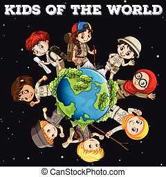 Kids of the world