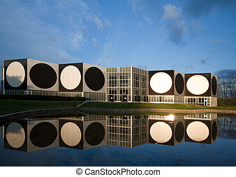 Vasarely foundation in Aix-en-Provence, France