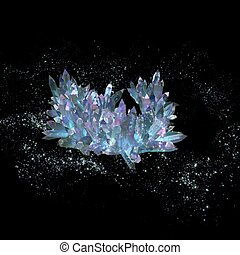 The mysterious crystals - he mysterious crystals in the...