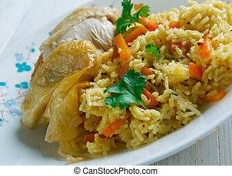 Kenyan biryani - Kenyan Chicken biryani - similar Indian...