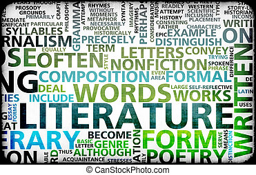 Literature Modern Education Background as a Art