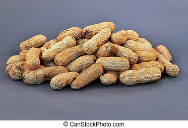 Peanuts - Pile of Peanuts in shell