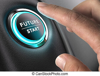 The Future is Now, Strategic Vision - Finger about to press...