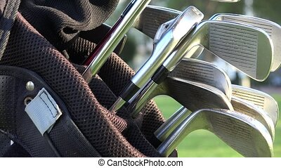 Golf Bag and Golf Clubs