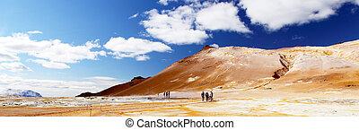 Namafjall Hverir in Iceland