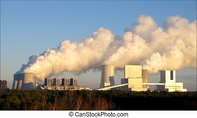 the modern power plant Boxberg - the modern coal power plant...