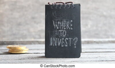 Where To Invest Investor idea - Where To InvestText and gold...