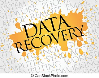Data Recovery word cloud